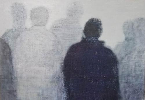 2014-13-허승희-untitled.116.8×91.0cm Acrylic on canvas.2014