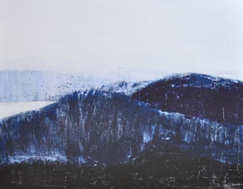 허승희, 바람이 지나가는 길...91x116.8cm, acrylic on canvas, 2017,