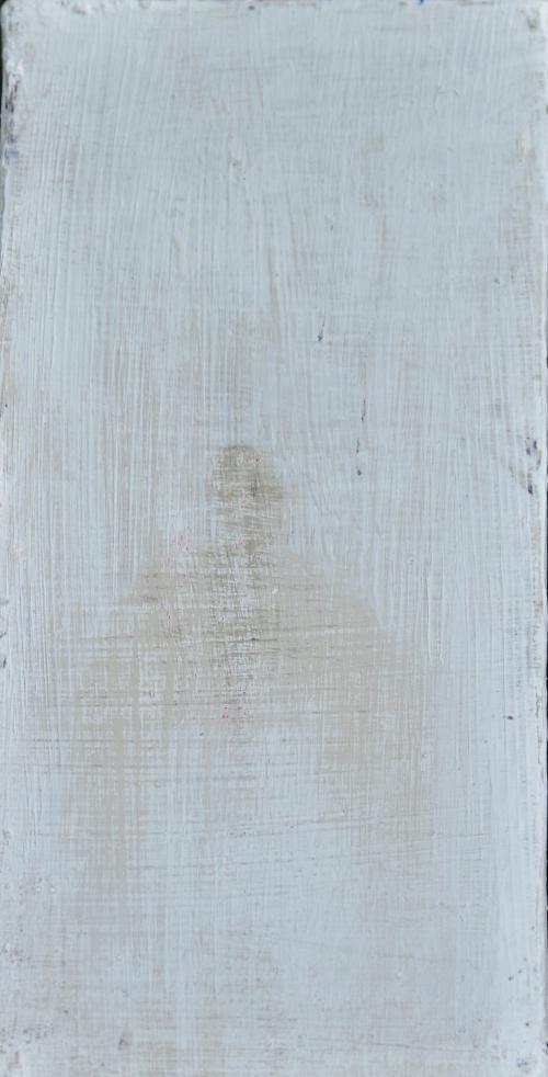 자코메티그림을닮은그림,10x20cm, acrylic on canvas, 2018,