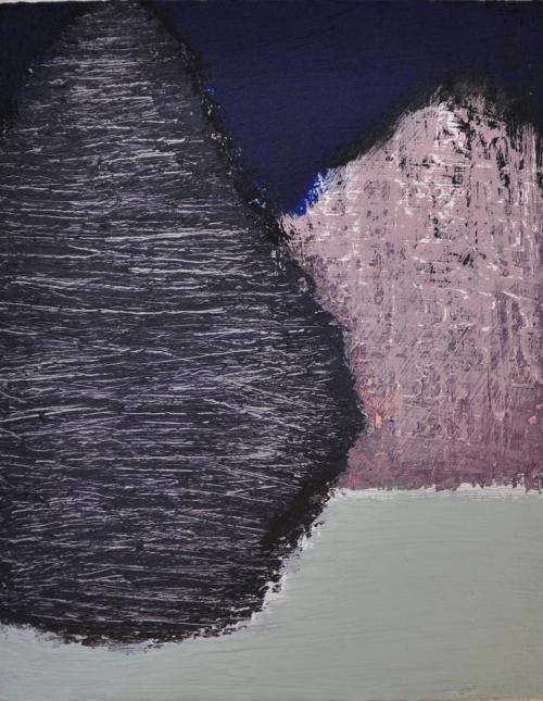 허승희,겨울나무 14.5x18cm, acrylic on canvas, 2018 20만원