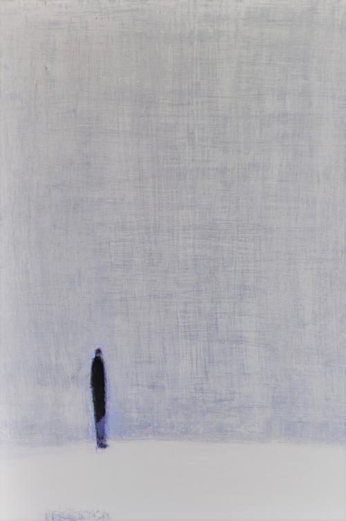 허승희,아마도..,41x53cm, acrylic on canvas, 2018,