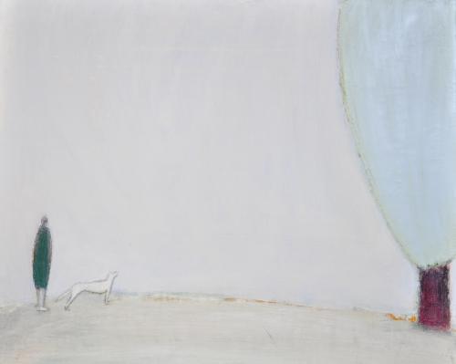 허승희,언뜻 봄..65.5×53cm.acrylic on canvas, 2017.
