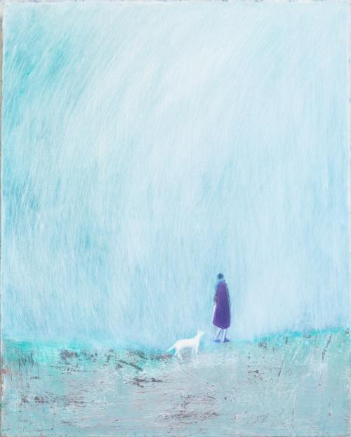 봄 마중 - 51cm x65.5cm Acrylic on Canvas .2017