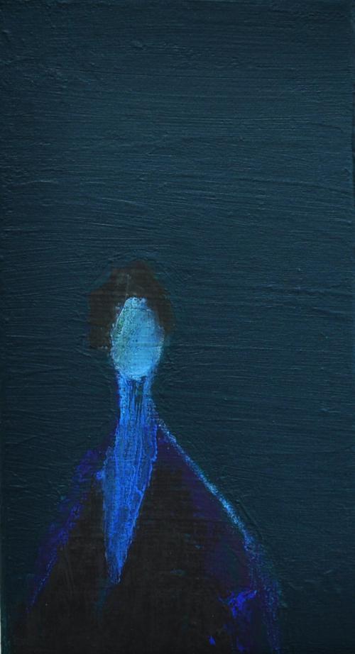 슬픔,그다음-10x20cm, acrylic on canvas, 2018,